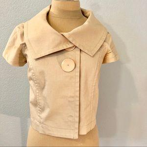 Cropped Jacket by Mint Jodi Arnold